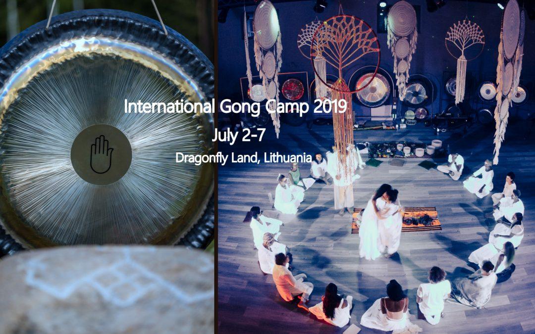 Tarptautinė patyriminė Gong Camp stovykla – liepos 2-7 dd.