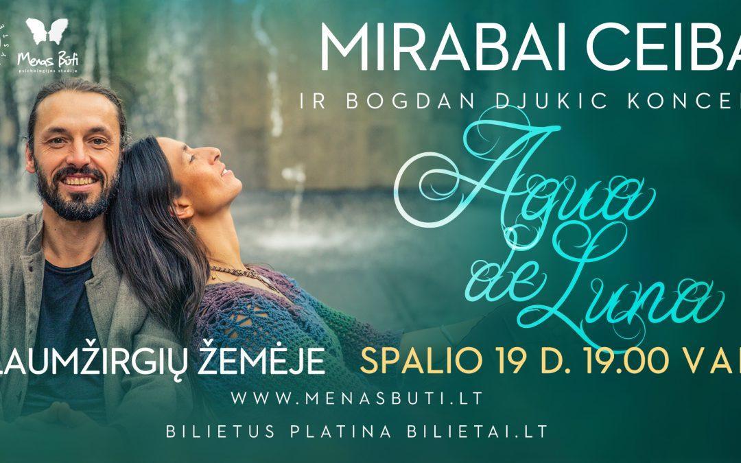 MIRABAI CEIBA Lietuvoje! Dirbtuvės ir koncertas Laumžirgių Žemėje