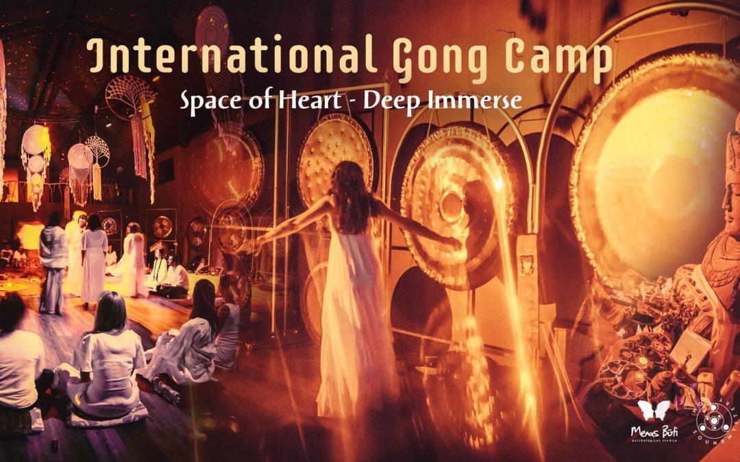 Tarptautinė Gong Camp stovykla. ŠIRDYJE. Gilus pasinėrimas